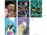 Junji Ito Artwork Postcard Set 2