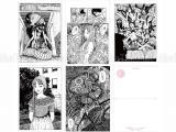 Junji Ito Artwork Postcard Set 4