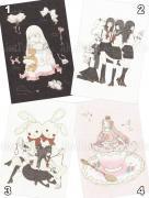 Kira Imai Postcard Group 11 from Girls Kingdom and Hitosaji Hime