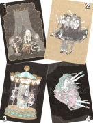 Kira Imai Postcard Group 3 from Gekko Shoujo