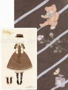 Kira Imai Gekko Shojo tights gray