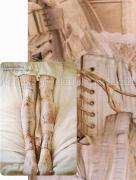 Lhiannan:Shee medical corset tights brown