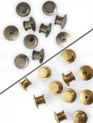 Locking Pin Backs PAIR - choice of silver or gold