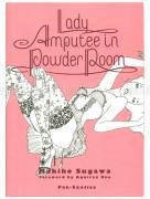 Makiko Sugawa Lady Amputee in Powder Room - front cover