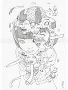Shintaro Kago Black & White original 13