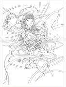 Shintaro Kago Black & White original drawing 14
