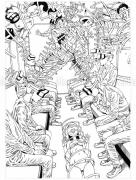 Shintaro Kago Black & White original drawing 16