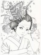 Shintaro Kago Black & White original 5