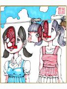 Shintaro Kago Copic Marker Drawing 19