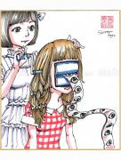 Shintaro Kago Copic Marker Drawing 25