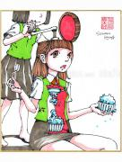 Shintaro Kago Copic Marker Drawing 28