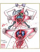 Shintaro Kago Copic Marker Drawing 3