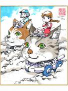 Shintaro Kago Copic Marker Drawing 33