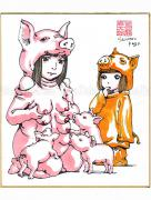Shintaro Kago Copic Marker Drawing 40