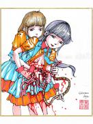 Shintaro Kago Copic Marker Drawing 42