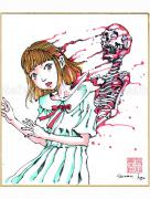 Shintaro Kago Copic Marker Drawing 44