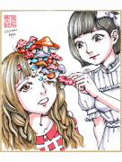 Shintaro Kago Copic Marker Drawing 48
