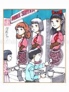 Shintaro Kago Copic Marker Drawing 52