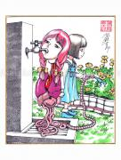 Shintaro Kago Copic Marker Drawing 53