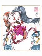 Shintaro Kago Copic Marker Original Drawing 54
