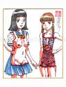 Shintaro Kago Copic Marker Original Drawing 55