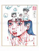 Shintaro Kago Copic Marker Drawing 57