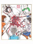 Shintaro Kago Copic Marker Drawing 60