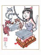Shintaro Kago Copic Marker Drawing 64
