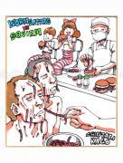 Shintaro Kago Copic Marker Drawing 69
