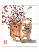 Shintaro Kago Copic Marker Original Drawing 72