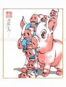 Shintaro Kago Copic Marker Drawing 78