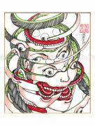 Shintaro Kago Copic Marker Drawing 84
