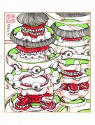 Shintaro Kago Copic Marker Drawing 85