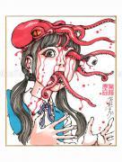 Shintaro Kago Copic Marker Drawing 89