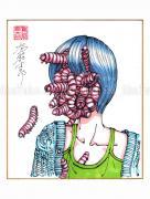 Shintaro Kago Copic Marker Drawing 93