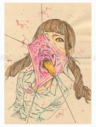 Shintaro Kago Funny Girl 118 original painting