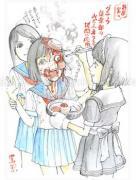 Shintaro Kago Funny Girl 21 original