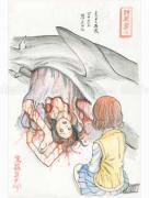 Shintaro Kago Funny Girl 31 original painting
