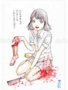 Shintaro Kago Funny Girl 36 original painting