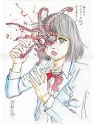 Shintaro Kago Funny Girl 38 original painting