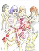 Shintaro Kago Funny Girl 3 original