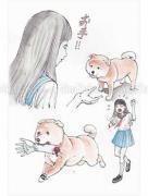 Shintaro Kago Funny Girl 59 original painting