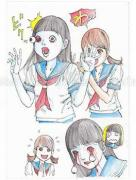 Shintaro Kago Funny Girl 60 original painting