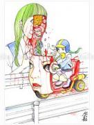 Shintaro Kago Funny Girl 75 original painting