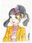 Shintaro Kago Funny Girl 80 original painting