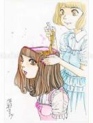 Shintaro Kago Funny Girl 86 original painting