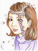 Shintaro Kago Funny Girl 95 original painting