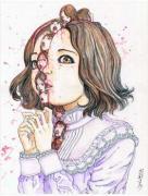 Shintaro Kago Funny Girl 96 original painting