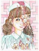 Shintaro Kago Funny Girl 98 original painting