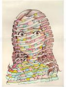 Shintaro Kago Ribbons original painting